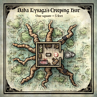 Curse of Strahd; Baba Lysaga's Creeping Hut (Digital DM & Player Versions)