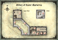 Curse of Strahd; Abbey of Saint Markova 2 (Digital DM & Player Versions) $2