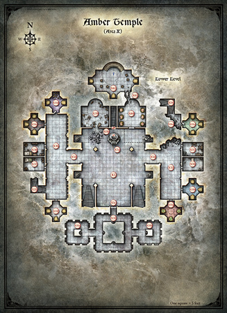 Curse of Strahd; Amber Temple 2 (Digital DM & Player Versions)