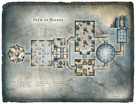 Dungeon #219 - Blades of the Stygian Mask; Path of Blades (Digital DM & Player Versions)
