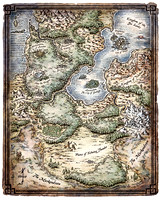 Heroes of the Feywild; Map of the Feywild (Digital) $2