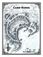 Rime of the Frostmaiden; Caer-Konig (Battle Map Print)