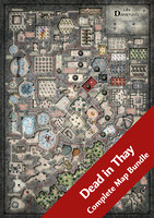 Dead in Thay (7 Digital DM & Player Maps) $10