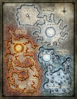 Dead in Thay; Bloodgate Keep Map 1 (Digital DM & Player Versions)