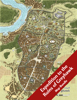 Expedition to the Ruins of Greyhawk Map Bundle (33 Digital DM & Player Maps)