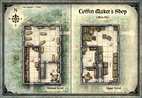 Curse of Strahd; Coffin Maker's Shop (Digital DM & Player Versions)