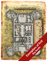 Exemplars of Evil Map Bundle (29 Digital DM & Player Maps)