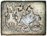 Glacial Rift of the Frost Giant Jarl; Map 4 (Digital DM & Player Versions)