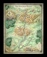 Dessarin Valley Map