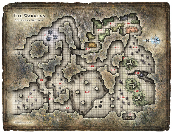 Dungeon Maps on