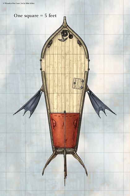 Fantasy Ship Maps