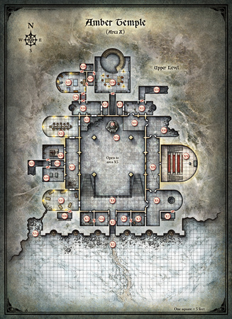Mike Schley All Individual Maps Curse Of Strahd Amber