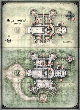 Curse of Strahd;  Argynvostholt 1 (Digital DM & Player Versions)