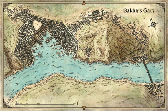 Baldur\'s Gate Map Baldur\\'s Gate Map | Bedroom 2018