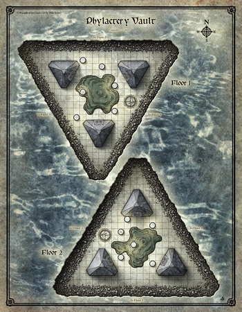 Dead in Thay; Phylactery Vault Map 1 (Digital DM & Player Versions)