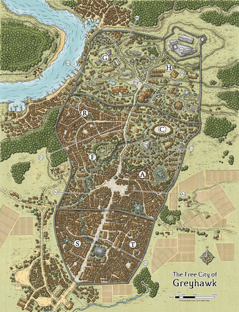 The Free City of Greyhawk (Digital DM & Player's Versions) $1.75