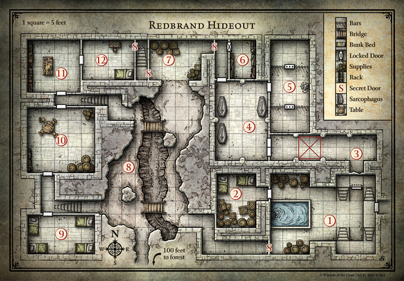D&D Starter Set; Redbrand Hideout (Digital DM & Player Versions)