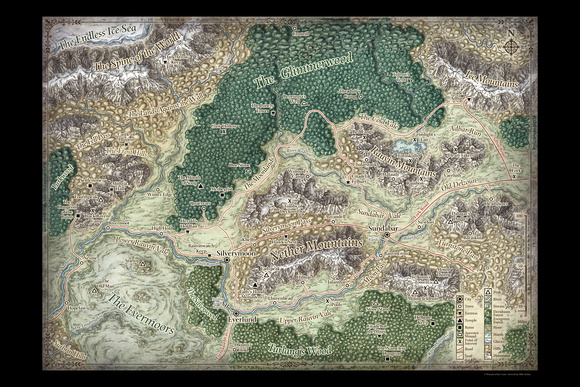 Silver Marches Map