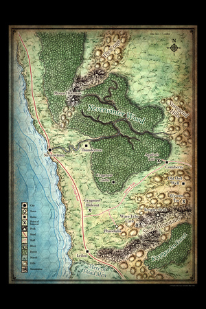 North Sword Coast Map