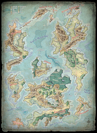 Moonshae Isles - 4E (Digital) $2