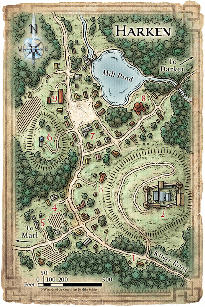 Fantasy City Maps