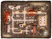 Hall of the Fire Giant King; Map 2 (Digital DM & Player Versions)